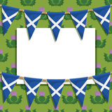 Scotland decoration Royalty Free Stock Photos