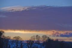 Scotland Dusk Stock Images