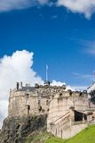 Scotland-Edinburgh castle Stock Photo