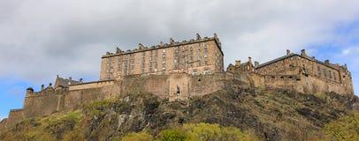 Scotland - edinburgh castle. Famous place in scotland - castle rock panorama Stock Photography