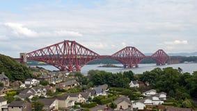 Scotland, Edinburgh, Forth Railway Bridge Stock Photography