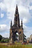 Scotland, edinburgh, scott monument Royalty Free Stock Photo