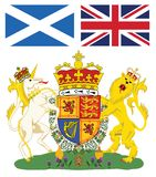 Scotland emblem Royalty Free Stock Photos