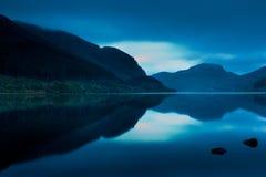scotland för callanderfjordlubnaig soluppgång royaltyfri fotografi
