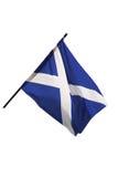 Scotland flag. Isolated on white background Royalty Free Stock Photography