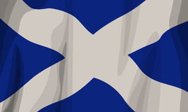 Scotland Flag. A vector St Andrews Flag Royalty Free Stock Image