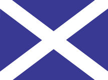 Scotland Flag Stock Photography