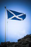 Scotland flag royalty free stock photography