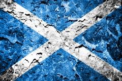 Scotland Flag royalty free illustration