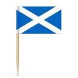 Scotland Flag toothpick 10eps Stock Photo