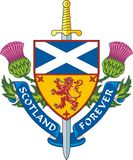 Scotland forever / Vector Royalty Free Stock Image