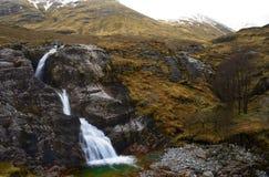 Scotland. Glaciers melting across beautiful sottish landscape royalty free stock photography