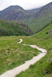 Scotland, glen nevis, hiking Royalty Free Stock Images