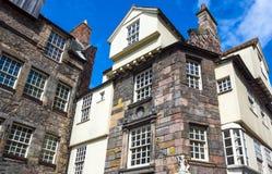 Scotland. Great Britain, Scotland, Edinburgh, Royal Mile, Canongate, the John Knox house Royalty Free Stock Images
