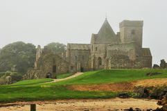 Scotland Inchcolm island abbey. Landscape Royalty Free Stock Photos