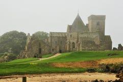 Scotland Inchcolm island abbey Royalty Free Stock Photos