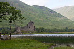 Scotland, kilchurn castle, loch awe Stock Photos