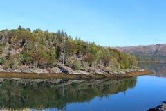 Scotland krajobrazu Fotografia Royalty Free