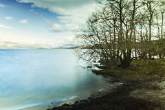 Scotland lake landcsape Stock Images