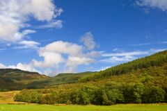 Scotland landscape Stock Photography
