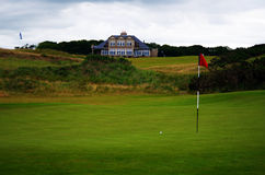 Scotland Links Style Golf Course Stock Photo