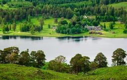 Scotland loch tulla royalty free stock photography