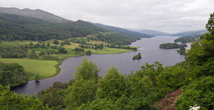 Scotland, loch tummel, queen's view Royalty Free Stock Photography