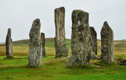 Scotland menhir 1. Scottish menhir isle of lewis Royalty Free Stock Image