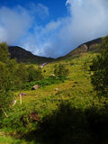 Scotland nature for walkers Royalty Free Stock Photography