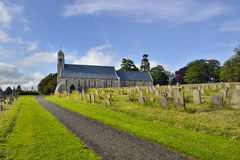 Scotland, The Parish Church of St. Michael & all Angels Royalty Free Stock Photo