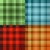 Scotland pattern Stock Image