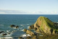 Scotland portknockie seascape Obraz Stock