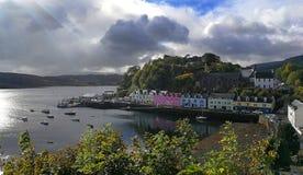 Scotland Portree stock photography