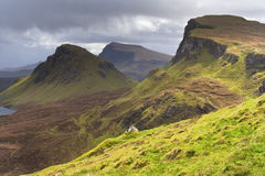 Scotland-The Quirang on Isle of Skye Stock Photo