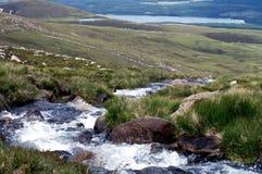 Scotland. Rough scottish landscape in severe weather conditions Stock Image