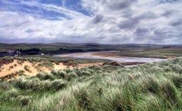 Scotland. Rough scottish landscape in severe weather conditions Stock Photos