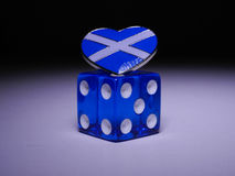 Scotland's next throw of the dice Stock Images