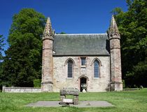 Scotland Scone Palace Chapel Royalty Free Stock Images