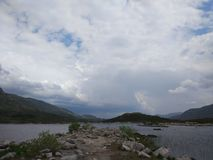 Scotland. Scotish highlands fantastic nature Royalty Free Stock Image