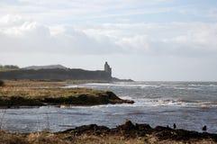 Scotland. Scottish beach while walking by the sea Royalty Free Stock Photos