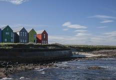 Free Scotland, The UK, Europe - Coastline In John O`Groat. Stock Photography - 135628542