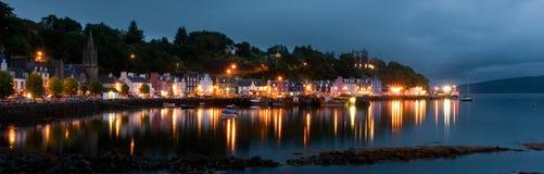 scotland tobermory zdjęcia stock