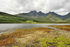 Scotland, views of the hills, around Elgol Stock Photography