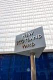 Scotland Yard στοκ φωτογραφία