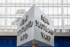 Scotland Yard Stockbild