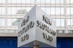Scotland Yard στοκ εικόνα