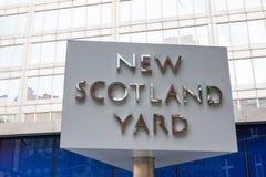 Scotland Yard Lizenzfreie Stockfotografie