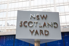 Scotland Yard στοκ φωτογραφία με δικαίωμα ελεύθερης χρήσης
