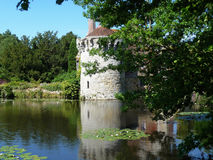 Scotney城堡 库存照片