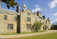 Scotney Castle Mansion House. Royalty Free Stock Photography